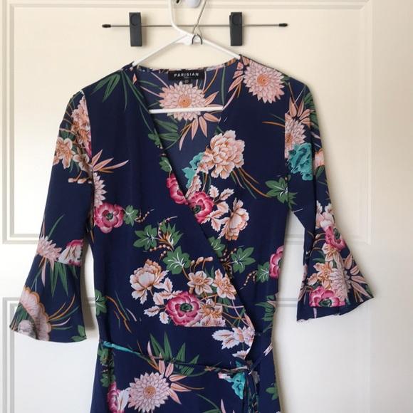 Parisian Works Dresses & Skirts - Parisian Maxi Wrap Dress